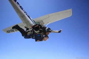 Skydiving gift voucher
