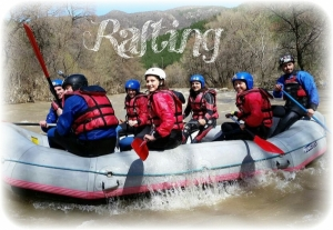Rafting gift voucher
