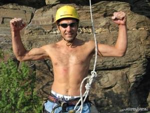 Rock climbing adventure gift voucher