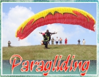 Tandem paragliding flight gift voucher