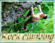 Rock climbing adventure gift voucher