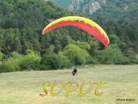 Tandem paragliding flight gift voucher